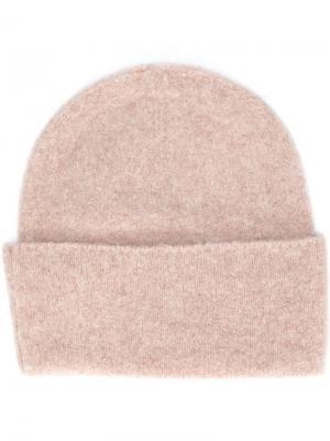 Вязаная шапка Polo Ralph Lauren. Цвет: нейтральные цвета