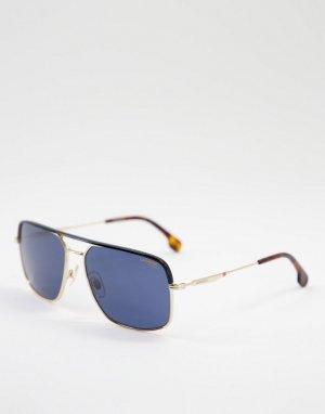 Солнцезащитные очки с квадратными линзами 152/S-Черный цвет Carrera