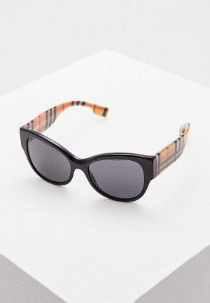 Очки солнцезащитные Burberry BE4294 375787. Цвет: черный