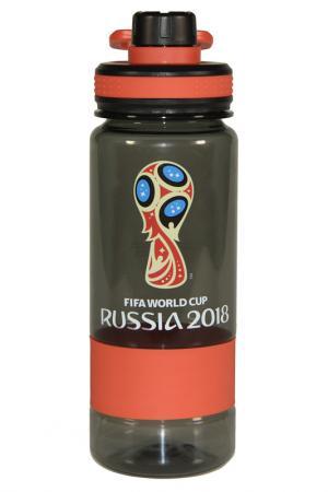 Бутылка, 0,7 л FIFA licensed products. Цвет: красный