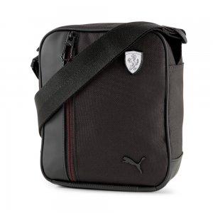 Сумка Scuderia Ferrari SPTWR Style Portable Shoulder Bag PUMA. Цвет: черный