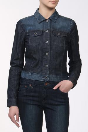 Куртка DKNY Jeans. Цвет: мультицвет