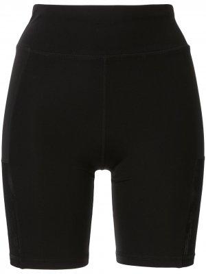 Облегающие шорты Foxy The Upside. Цвет: черный