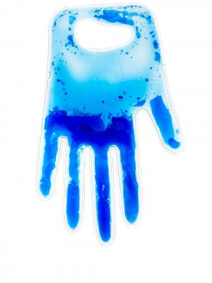 Клатч в форме руки Christopher Kane. Цвет: синий