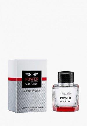 Туалетная вода Antonio Banderas Power Of Seduction. Цвет: прозрачный