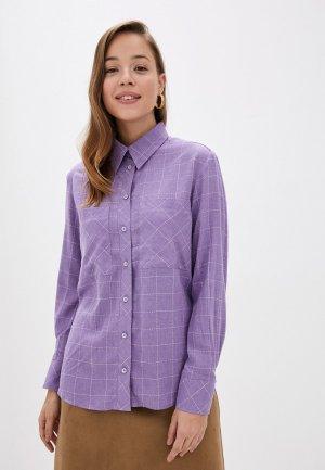 Рубашка Gregory. Цвет: фиолетовый
