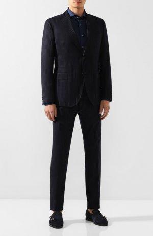 Шерстяной костюм Windsor. Цвет: темно-синий