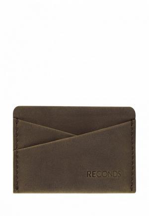 Кредитница Reconds Pocket. Цвет: хаки