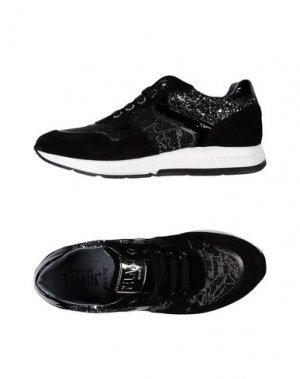 Низкие кеды и кроссовки ALVIERO MARTINI 1a CLASSE. Цвет: черный