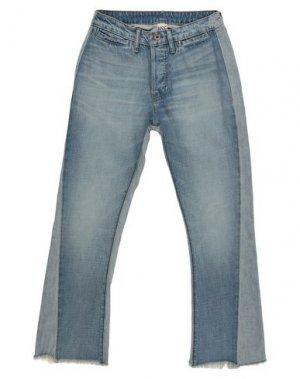 Джинсовые брюки NSF. Цвет: синий