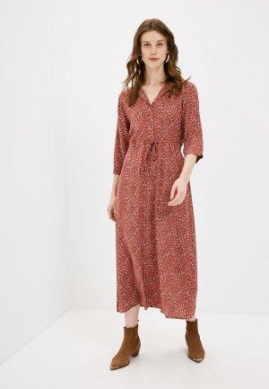 Платье Jacqueline de Yong. Цвет: коричневый