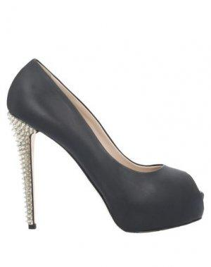 Туфли ENIO SILLA for LE. Цвет: черный