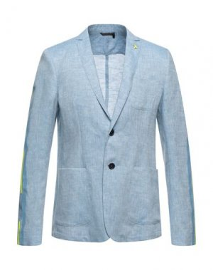 Пиджак PATRIZIA PEPE. Цвет: небесно-голубой