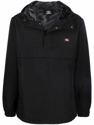 Легкая куртка с капюшоном Dickies Construct. Цвет: черный