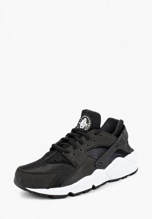Кроссовки Nike AIR HUARACHE RUN WOMENS SHOE. Цвет: черный