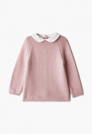 Кардиган Mango Kids - COLI. Цвет: розовый