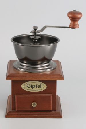 Кофемолка 12x12 см Gipfel. Цвет: коричневый