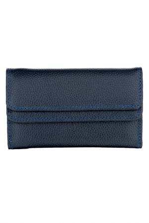Wallet WOODLAND LEATHERS. Цвет: navy