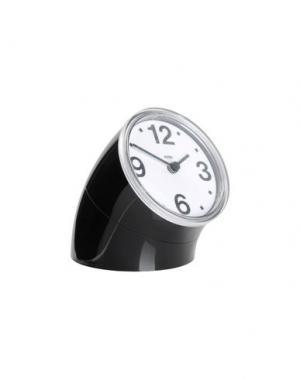 Настольные часы ALESSI. Цвет: черный
