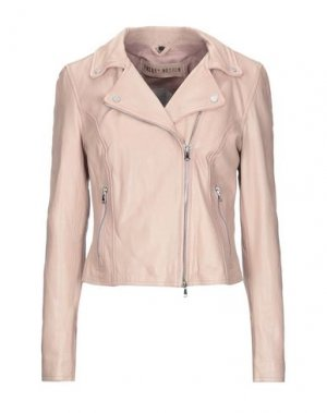 Куртка FREAKY NATION. Цвет: пастельно-розовый