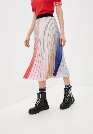 Юбка Karl Lagerfeld. Цвет: разноцветный