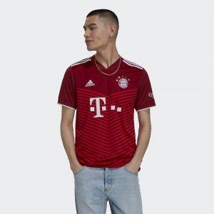Домашняя игровая футболка Бавария Мюнхен 21/22 Performance adidas. Цвет: красный