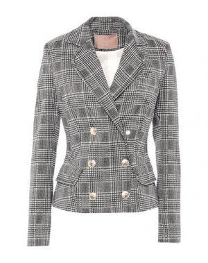 Пиджак BABYLON. Цвет: серый