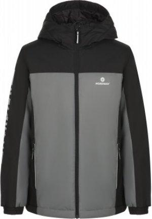 Куртка утепленная для мальчиков , размер 146 Nordway. Цвет: черный