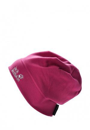 Шапка Jack Wolfskin REAL STUFF CAP. Цвет: розовый