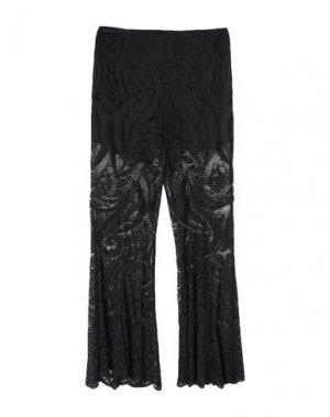 Повседневные брюки ANNA SUI. Цвет: черный