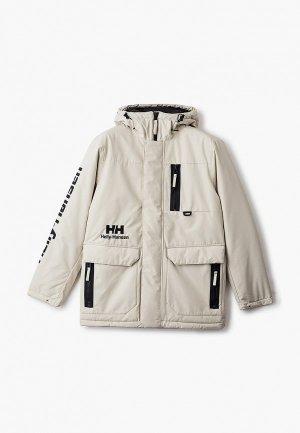 Куртка утепленная Helly Hansen YU WINTER PARKA. Цвет: бежевый