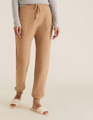 Тапочки-мюли без каблука с открытым носком M&S Collection. Цвет: сливки