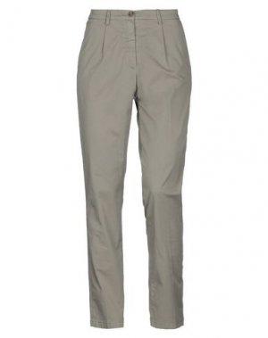 Повседневные брюки AERONAUTICA MILITARE. Цвет: хаки