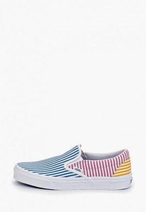 Слипоны Vans UA Classic Slip-On. Цвет: разноцветный
