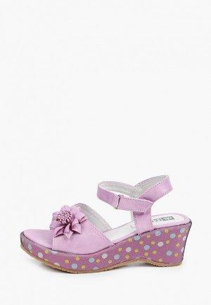 Босоножки King Boots. Цвет: фиолетовый
