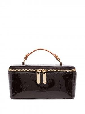Шкатулка для украшений Vernis 2010-х годов Louis Vuitton. Цвет: коричневый