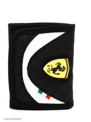 Портмоне Ferrari Replica Wallet Puma. Цвет: черный, белый