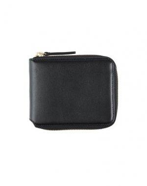 Бумажник ASPESI. Цвет: черный