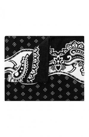 Хлопковое полотенце Dolce & Gabbana. Цвет: чёрно-белый