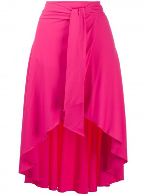 Расклешенная юбка с поясом Fisico. Цвет: розовый