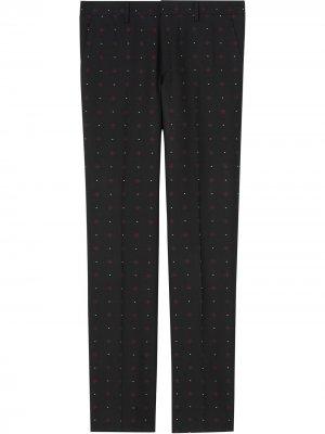Классические строгие брюки из филькупе Burberry