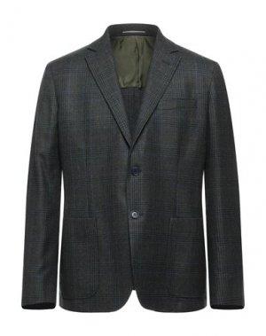 Пиджак ANDREA BARBERI. Цвет: темно-зеленый