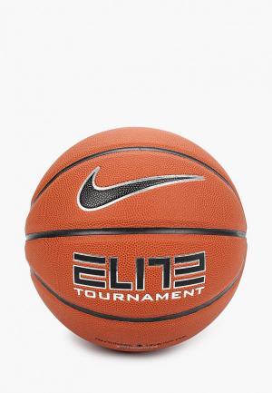 Мяч баскетбольный Nike ELITE TOURNAMENT. Цвет: коричневый