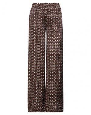 Повседневные брюки JEFF. Цвет: какао