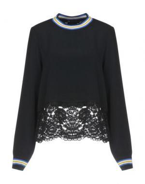 Блузка LOVE MOSCHINO. Цвет: черный
