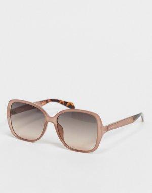 Oversized солнцезащитные очки 3088/S-Розовый цвет Fossil