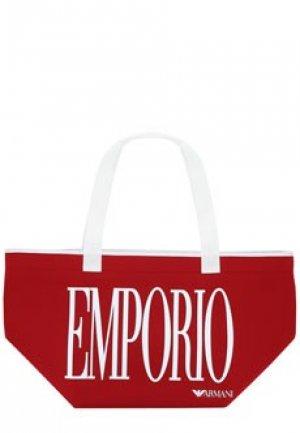 Сумка EMPORIO ARMANI. Цвет: красный