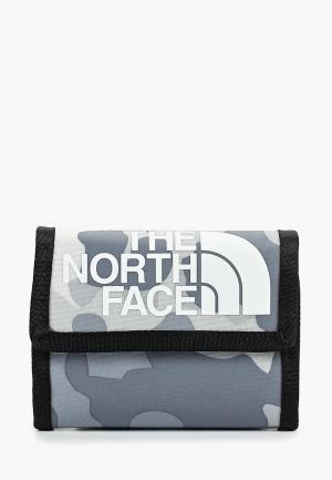Кошелек The North Face BASE CAMP WALLET. Цвет: серый