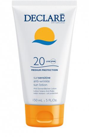 Солнцезащитный лосьон с омолаживающим действием Anti-Wrinkle Sun Lotion SPF 20 Declare. Цвет: бесцветный