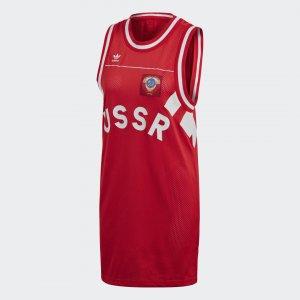 Платье-майка USSR Originals adidas. Цвет: none